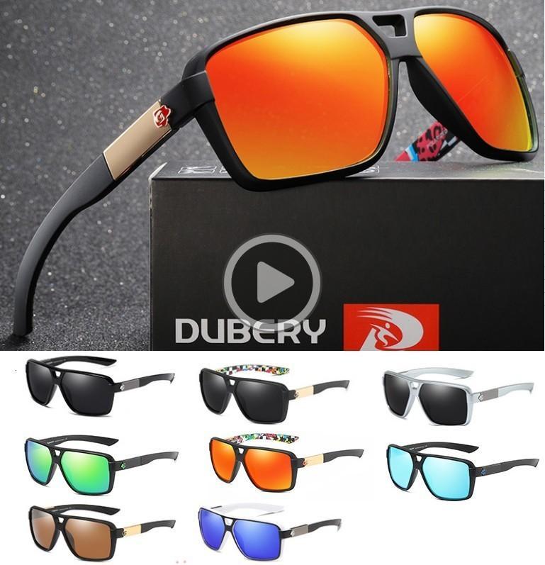 DUBERY Vintage Men's Polarized Sunglasses Shippin Sun For Men Model 167 Driving Black Free Oculos Male 8 Colors UV400 Shades Goggles Gl Ajer