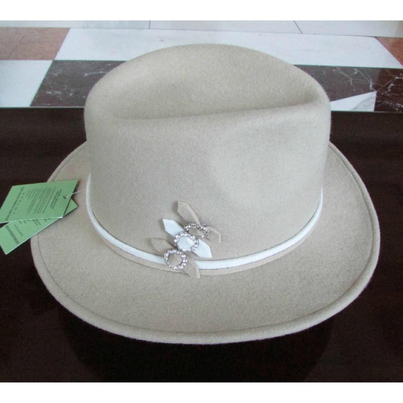100% Sombrero de lana Sombrero de vaquero Equitación Vaquero occidental Lana de hombres Fedora Fedora Hats British Fashion Party Hats Wide Brim Fedora