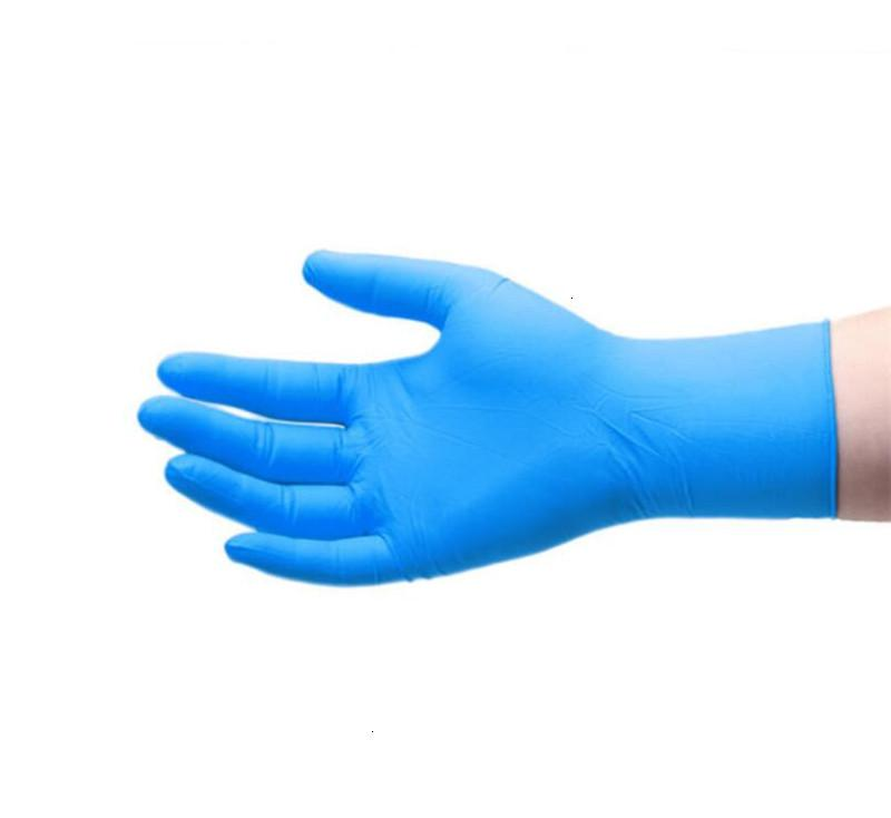 Guanti protettivi universali usa e getta per uso domestico Guanti per la pulizia del giardino Nitrile fabbrica