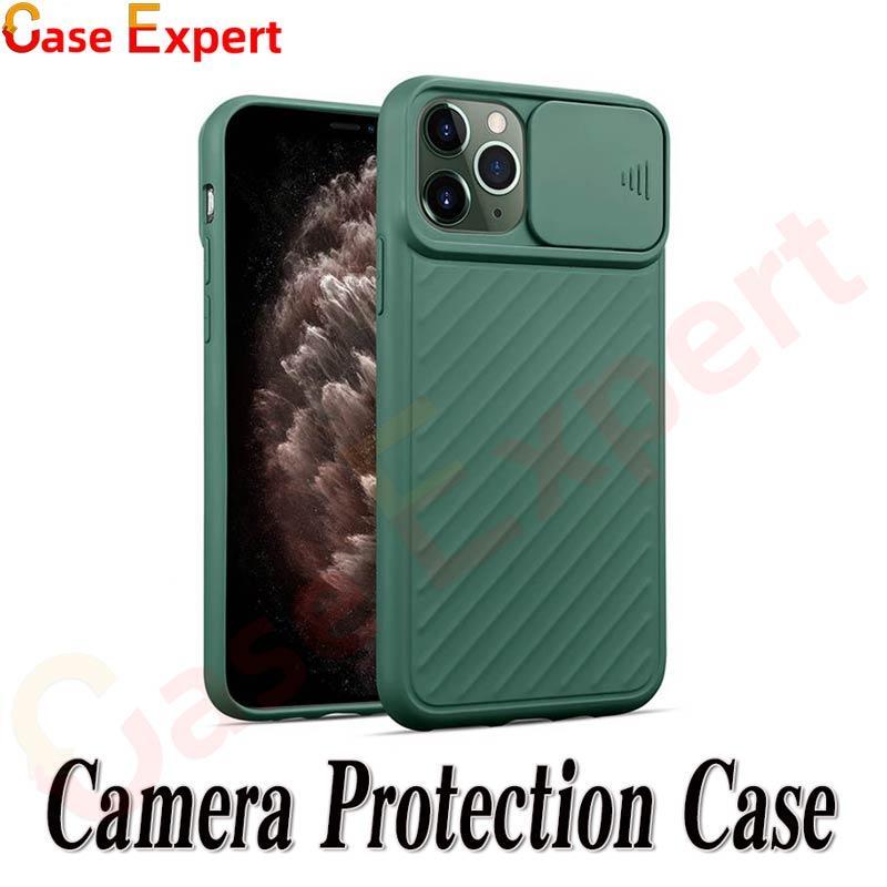 Funda telefónica de protección de cámara de puerta deslizable para iPhone 12 Pro max xr xs max 8 7 6