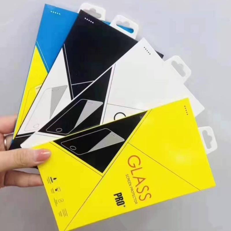 Novo Telefone Móvel Turizado Filme Caixa de Embalagem Geral Apple Samsung Mobile Phone Film Caixa de Embalagem Caixa De Cor Fábrica Atacado