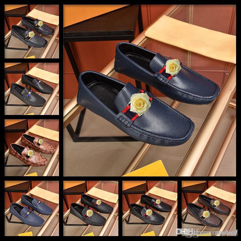 M3 Hommes Chaussures Casual Grandes Tailles Vente chaude Mocassins Slip sur Moccasin Solide Faux Suisse Chaussures Noir Soft Hommes Chaussures 2019 Rouge 33