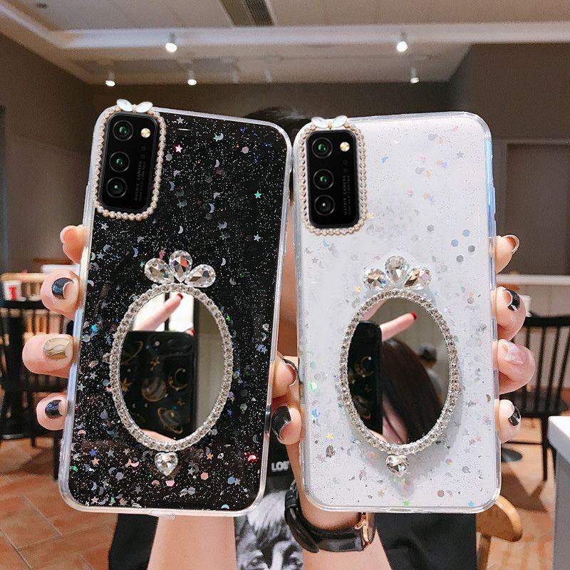 Blitter Diamond Case для iPhone 12 Pro Max 12mini Силиконовые мягкие чехлы для iPhone 11 7 8 6 6 PLUS XR XS MAX