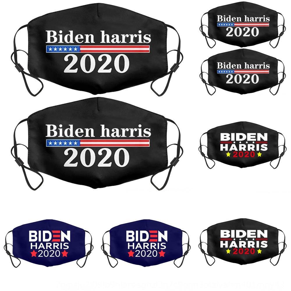 9GWR Festa FREE 2020 Eleição Trump Máscara de Algodão Poeira Mantenha novamente América Navio Boca Cosplay Face Biden Anti Máscaras Poluição Grande capa AtQpm