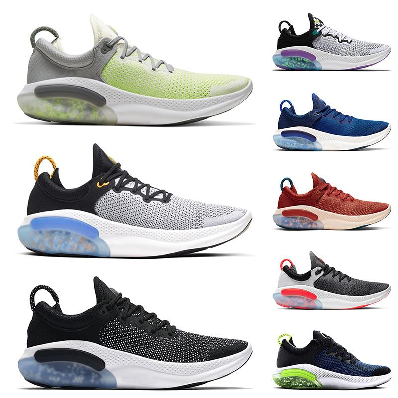 Venta caliente Joyride Run Fly Knit Womens Running Shoes Zapatillas entrenadores Sports Sail Triple Negro Blanco Platinum Tint Racer Blue Mens Sneakers