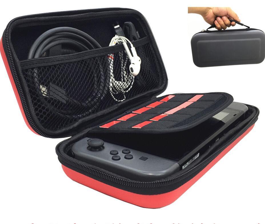 Taşınabilir Taşıma Koruyun Seyahat Sert EVA Çanta Konsolu Oyunu Kılıfı Koruyucu Taşıma Kılıf Nintendo Anahtarı Kabuk Kutusu Anahtarı Yüksek Kalite Yeni