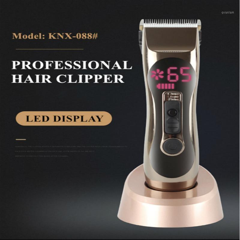 Cabelo Clippers Barbeiro Uso Elétrico Melhorar Recarregável para Homens Profissional 0881