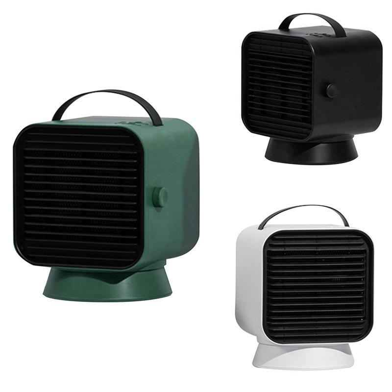 Electric Heater Portable Home Heating Fan Miniature Low Power Small Sun Heating Low Noise Warm Air Blower US Plug