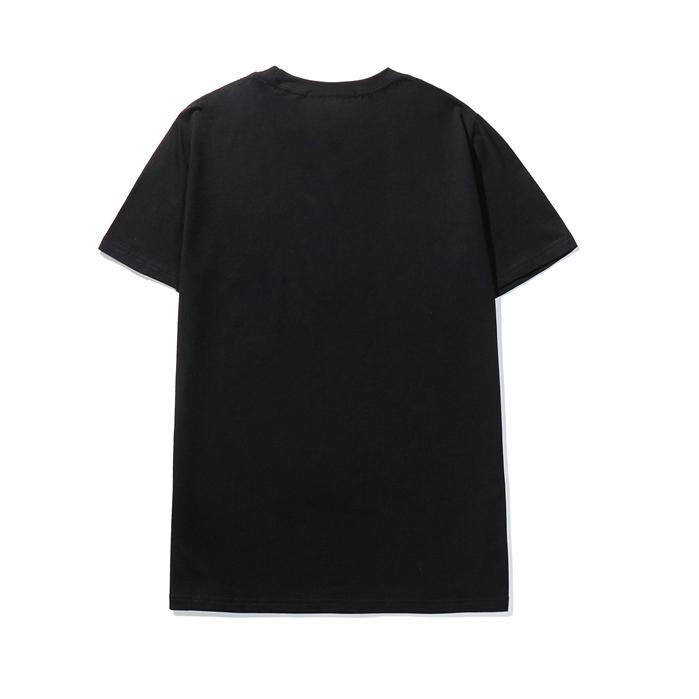 22SS France T-shirt de broderie de lettre 3D MENS Femmes Couples Été Top Qualité Paris Street Tee Hommes Vêtements Casual Sleeve Sleeve Jumper