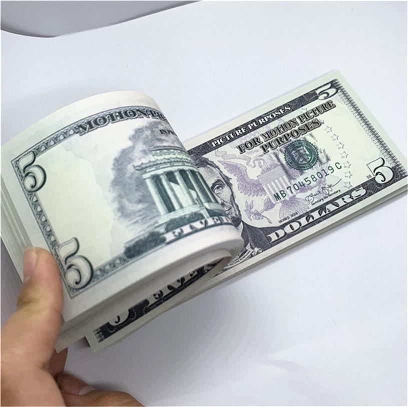 100 teile / pack neues design 2021 bar party banknoten dollar kopie banknoten großhandel realistisch vorgeben Geldpapier A19