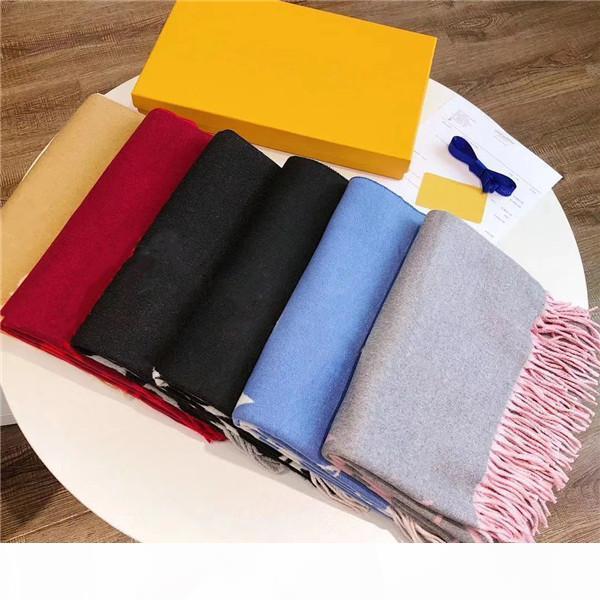 2020 Top Designer Seidenschal Marke Schal Damen weiche super lange Luxus Schal Schal Frühlingsmode gedruckte Schals A0320