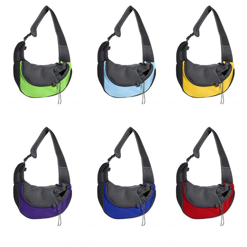 كلب حبال الناقل حمل تنفس شبكة السفر في الهواء الطلق حقيبة يد حقيبة الكتف للكلاب القطط JK2012PH