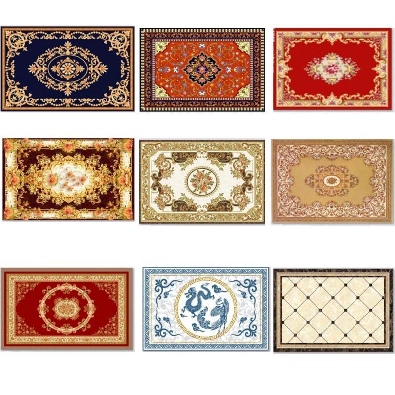 Sala Corredor clássico tapetes persas Retro Turco grandes tapetes Decoração Sofá Tabela antiderrapante Andar Decoração Carpet