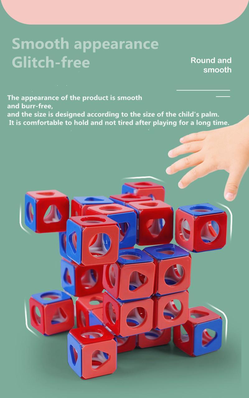 Puzzle de venta caliente Cuerpo de pensamiento tridimensional Mini Rubik Cube juego Aprendizaje Juego educativo Rubik's Cube Good regalo Juguete DecomPre A4
