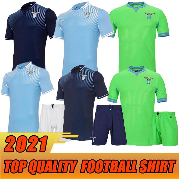20 21 Neue Latium Fussball Jersey 2020 2021 LAZIO LUIS Alberto J.Correa Camiseta de Fútbol Immobile Sergej High-Qualität-Fußball-Hemd