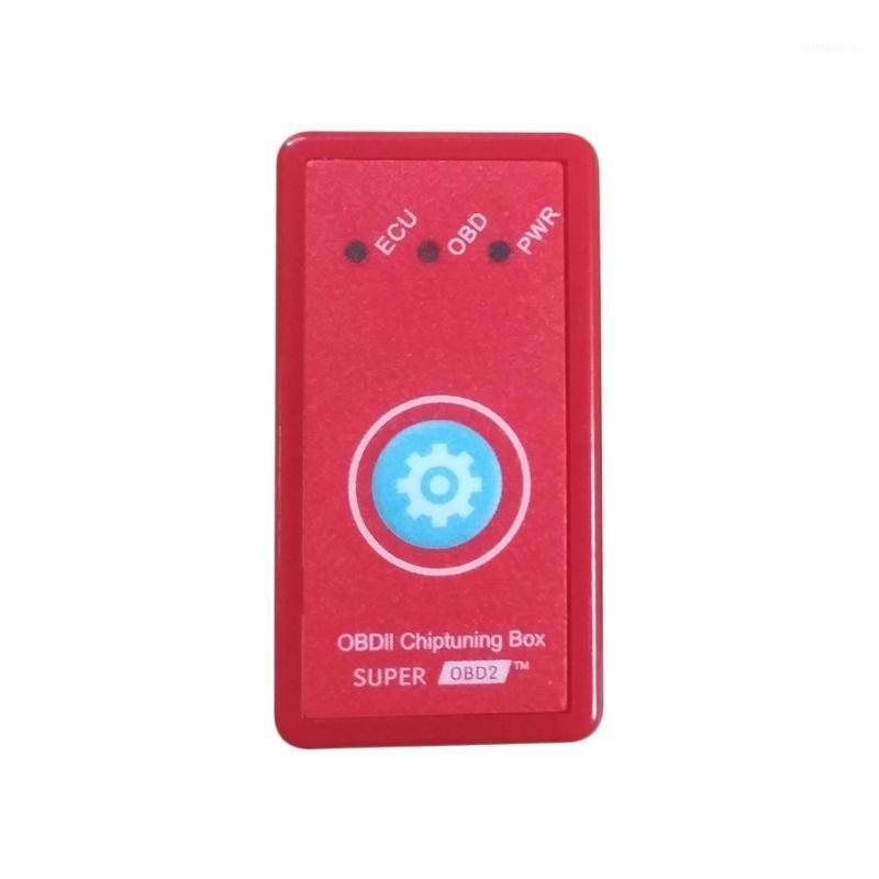 Yeni Sürüm NitroOBD2 Sıfırlama Düğmesi ile Güç Prog Kırmızı Dizel Arabalar için Çip Tuning Kutusu Fiş Drive Nitro OBD2 Daha Güç Torque1