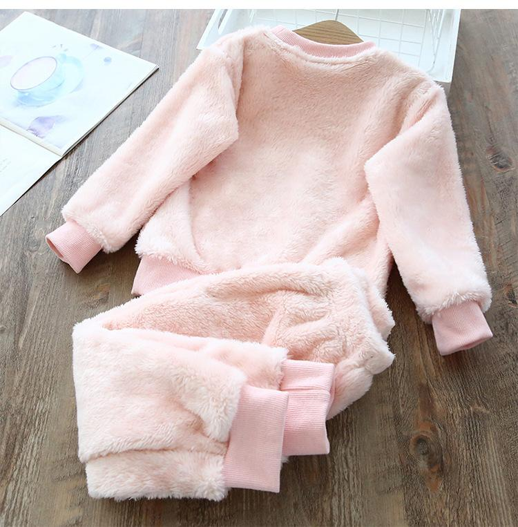 2020 New Homewear Fashion Pajamas Baby Boy Clothes Sets For Girls Clothing Toddler Child Garcon Casual Suit Children Kid Suits LJ201203