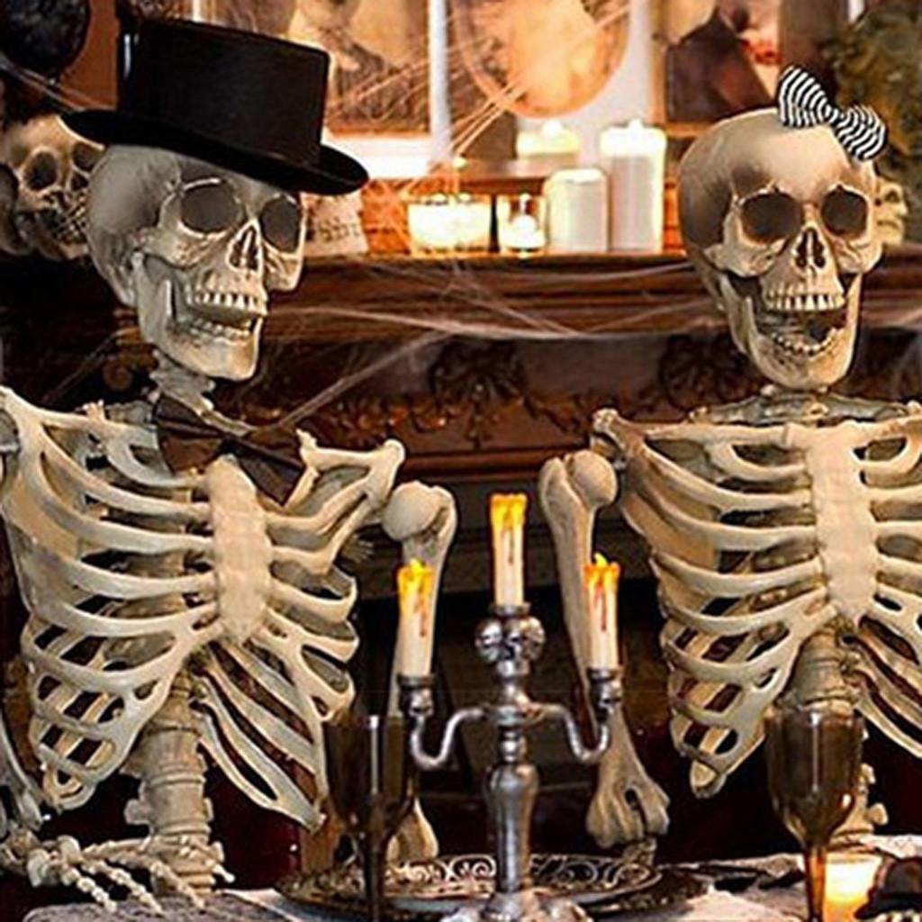 Представленные полные жилые размеры Хэллоуин украшения Party Pript Новый Хэллоуин Скелетные Праздники DIY Украшения SEP9 Y201006