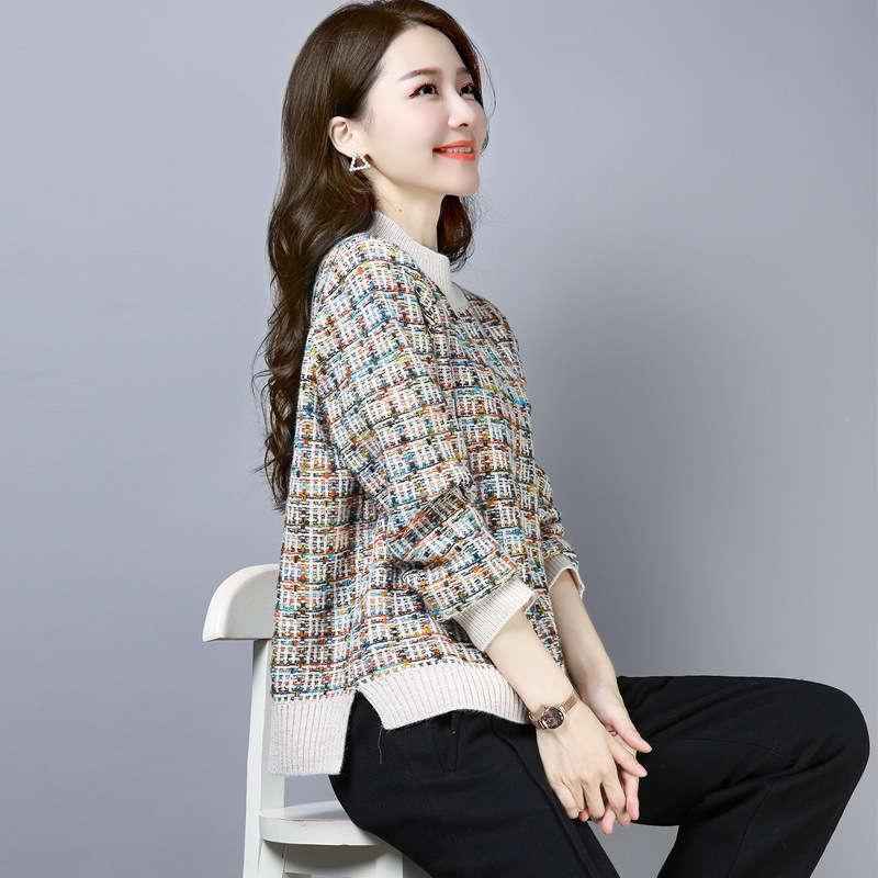 Pull à moitié élevé pour femme pour femmes 2020 NOUVEAU style épais chemise de fin de fil d'automne et d'hiver à l'intérieur