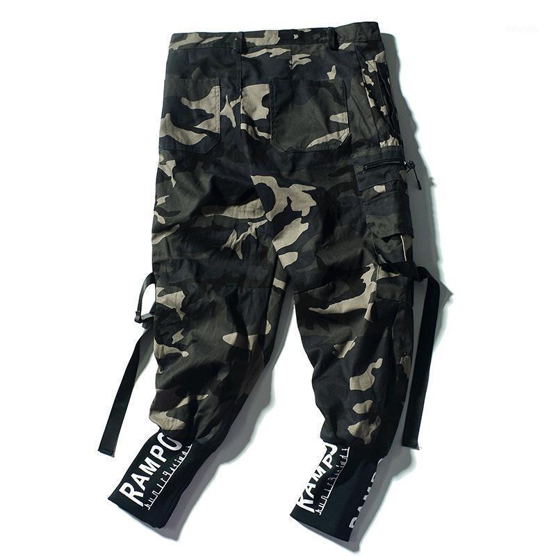 Pantalones para hombres 2020 Hip Hop Streetwear Joggers Sweetpants Casual algodón harén pantalones Harajuku otoño pantalones de carga hombres marca ropa1