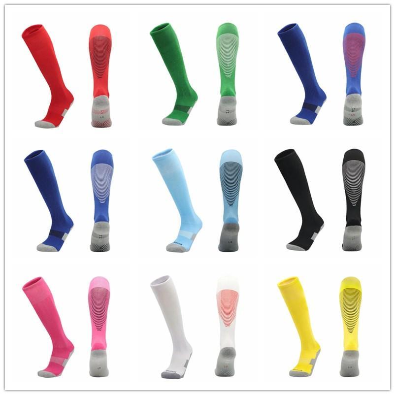 2021/22 Novas meias de futebol adulto e crianças meias de futebol esportes meias antiderrapantes meias