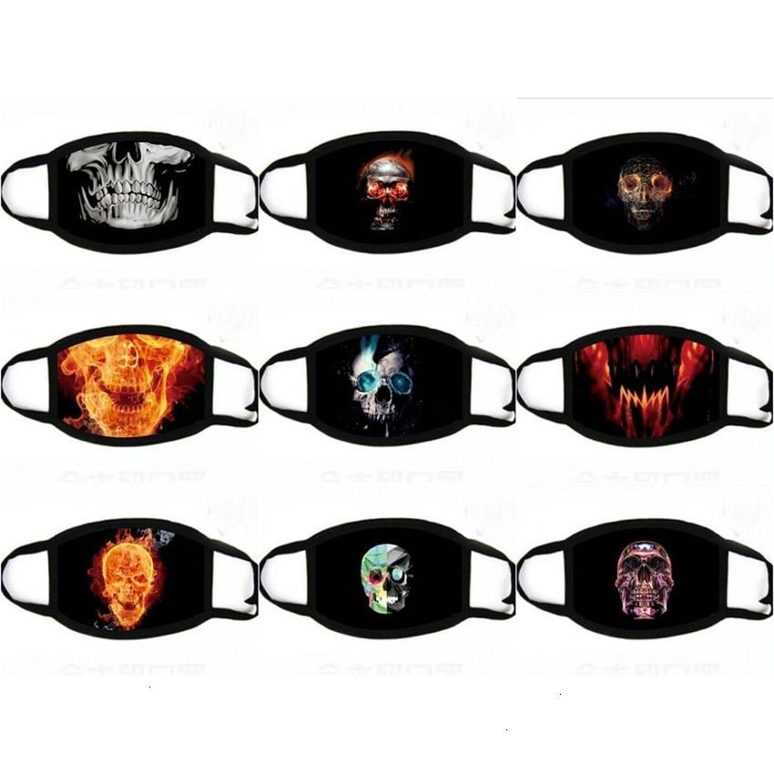 Cosplay divertente Halloween metà per FaceMask Mask Costumes Designer Maschere per viso WFFSX SQ2009
