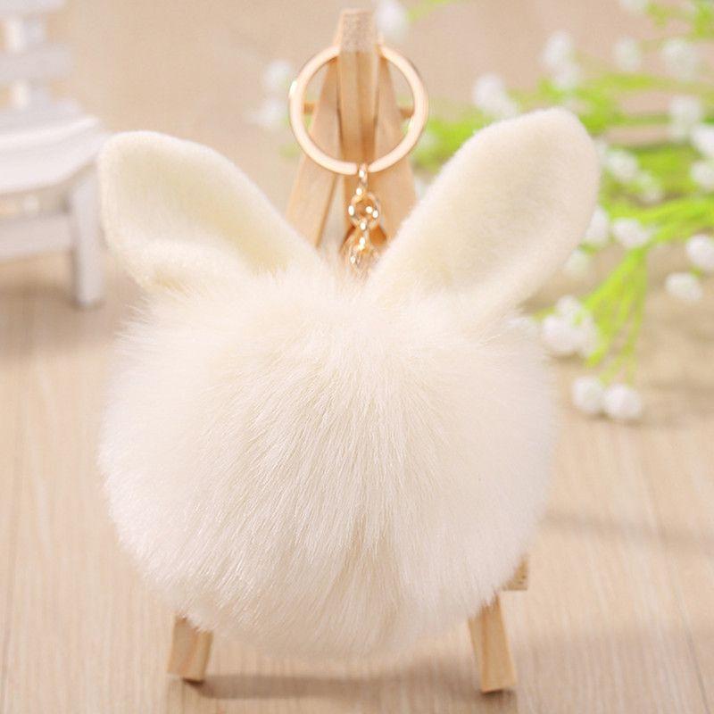 Plush Toys Hair Bunny Stuffed Doll For Lover Friends Festival Gift Adorable Plush Pendant Party Favor 100pcs T1I3236