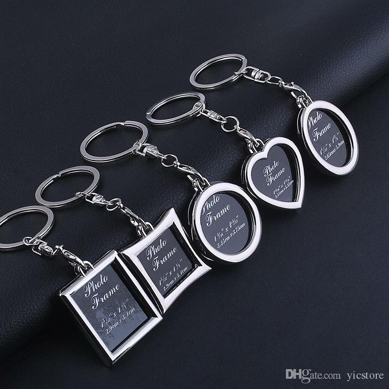 6 моделей фоторамки брелок сплавов сплав локальный любовник фото цепочка ключа кольца сердца яблочные подвески для женщин юбилей