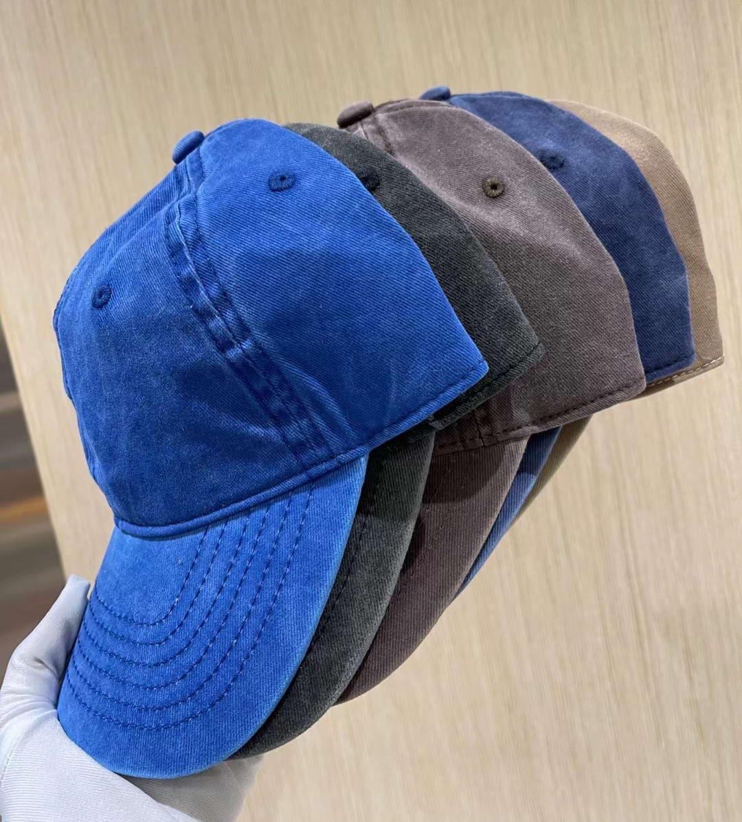 Yıkanmış Pamuk Beyzbol Kapaklar Ayarlanabilir Strapback Topu Kapaklar Trucker Cap Kırmızı Açık Rahat Şapka Hediye Spor Beyzbol Balıkçılık Kapaklar Unisex