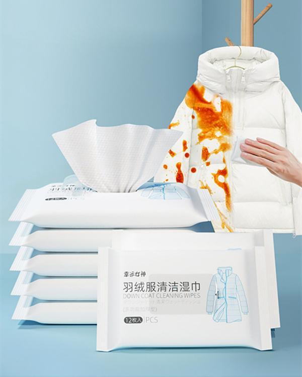 Islak Mendil Aşağı Ceket Temizleme Mendilleri Kağıt Kuru Deterjan Tek Kullanımlık Papertowel Yağ Lekelerini Kaldırmak İçin Dekontaminasyon Temizleyici
