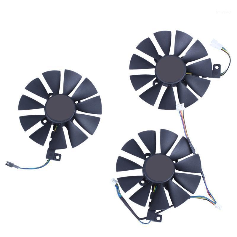 87MM PLD09210S12M PLD09210S12HH Cooling Fan Replace Cooler for ASUS Strix GTX 1060 OC 1070 1080 GTX 1080Ti RX 480 Ie Card Fan1