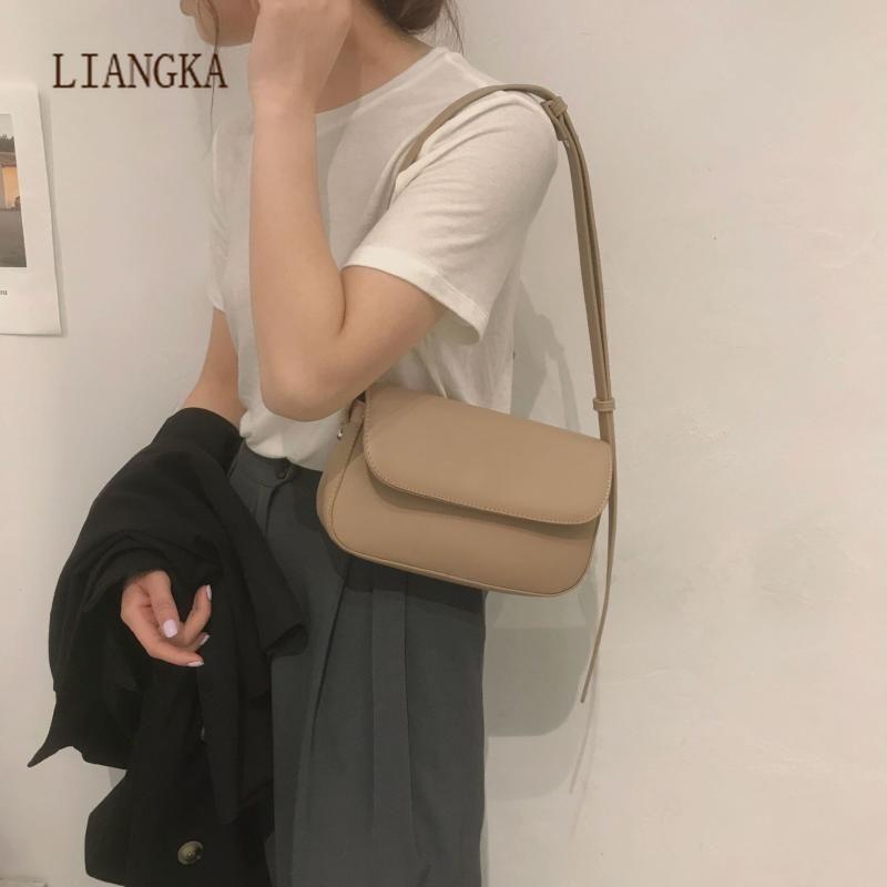 2021 Leather Shoulder Bags For Women Handbag Vintage Ladies Totes Medieval Retro Armpit Bag Female Clutch Bag Women Bolso