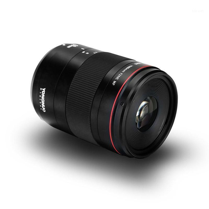 YONGNUO MACRO LENS YN60MM F2 MF Lucide avec indicateur de mise au point pour Nikon Canon 700D 80D 5D Mark III IV Caméra1