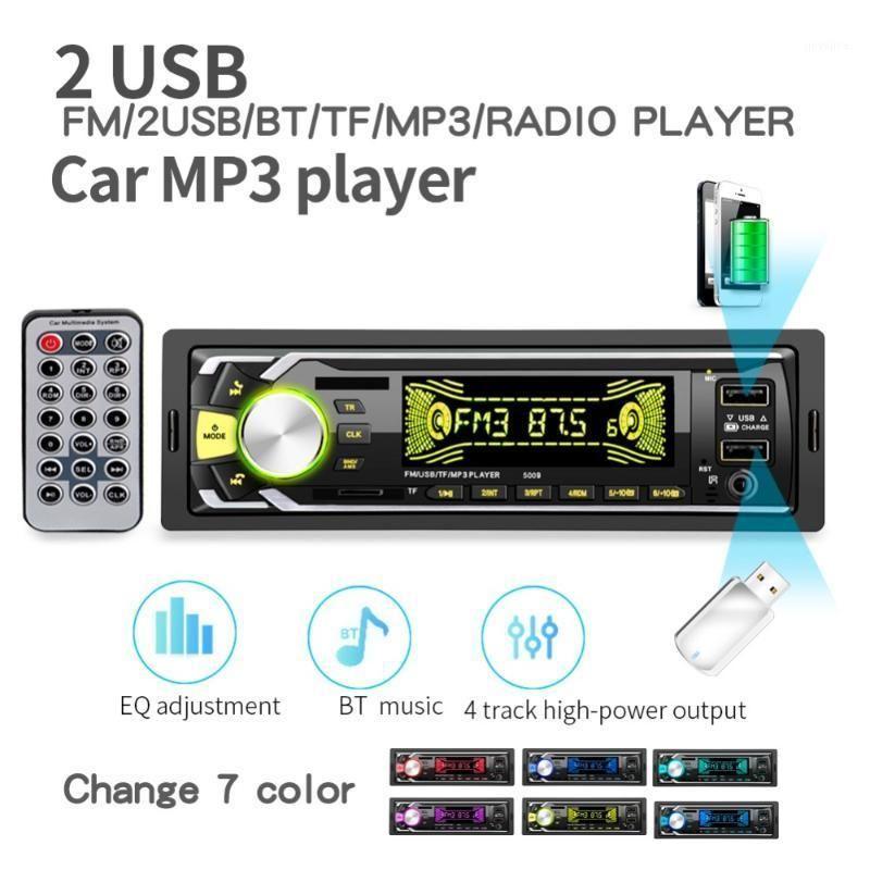 Car Audio 20pcs / Lot Radio 1 Din Bluetooth Autoradio MP3 SD Lecteur Coche Radios Estereo Poste Para Auto Stéréo Carro 2 USB 50091