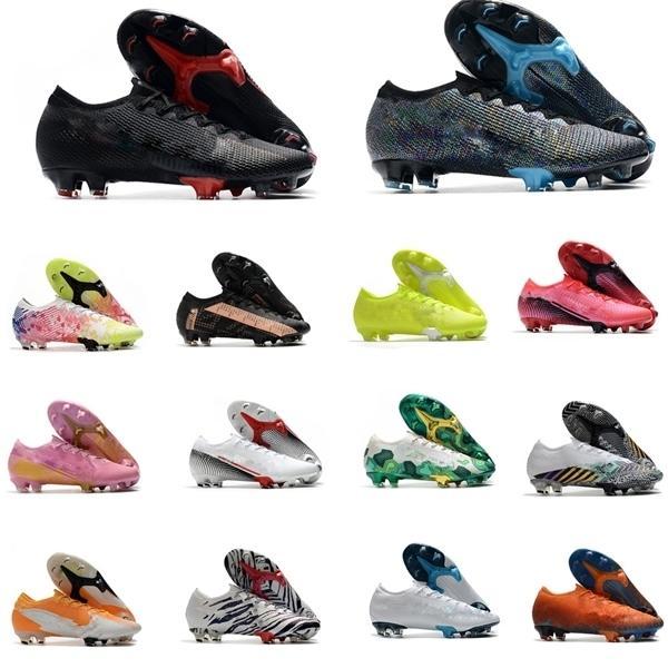 Moda 2020 Mulheres Mens Legais de Futebol Superfly 7 Elite SE Neymar FG Sapatos de futebol Ao Ar Livre Mercurial Elite FG 13 CR7 Botas de Futebol Ronaldo