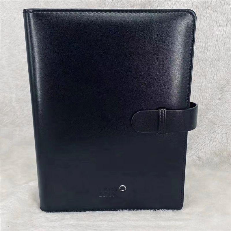 Couverture en cuir de marque de luxe Notepads Agenda Agenda Remarque à la main Livre Classical Notebook Période Diary Périotique Design Advanced Design Cadeaux d'affaires