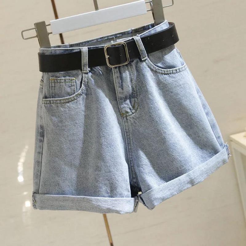 Vintage sélectionl Casual Femmes Denim Shorts taille haute Slim Jeans Shorts d'été sans ceinture Chic Hot Ladies Bas