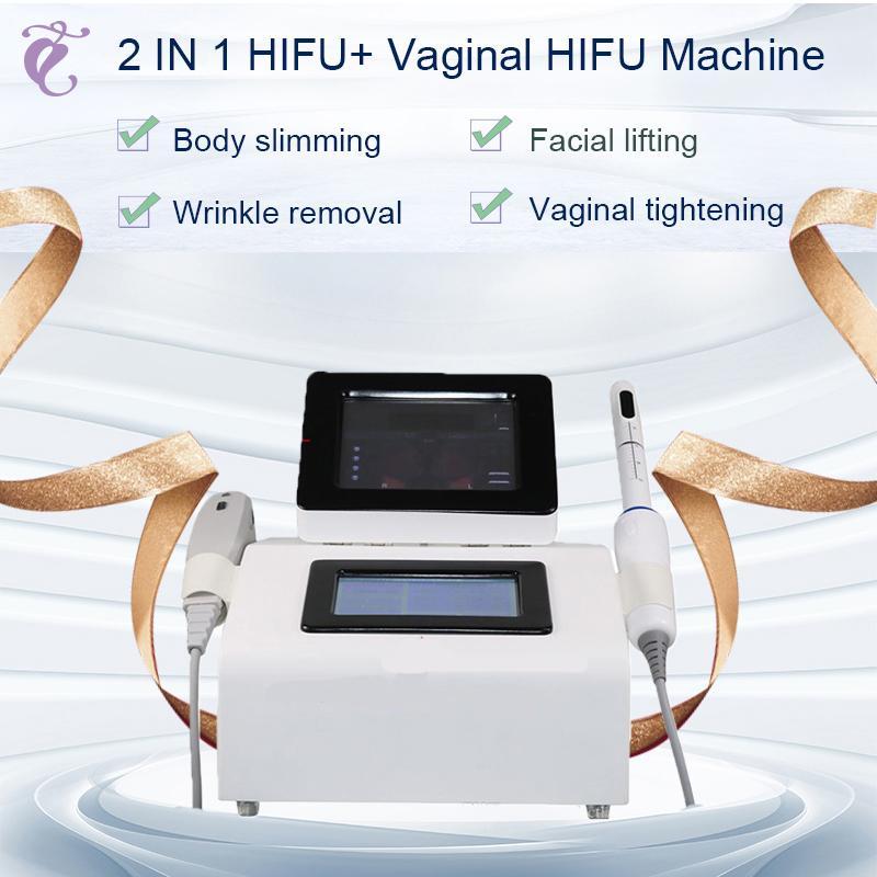 Ev Bakımı Tıbbi Cihazlar Taşınabilir HIFU Vajinal Sıkma Yüz Lif CE Onaylandı