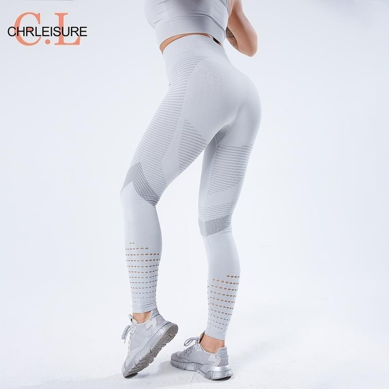 CHRLEISURE Women Legging Fitness Push Up Legging Seamless High Waist Workout Leggins Mujer New Gym Seamless Legins Women 201203