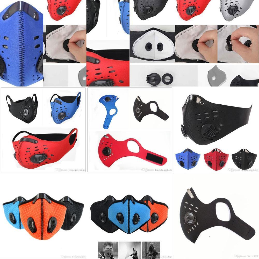 1 бытовое защитное лицо HOM в половину PCS Mask Mask Mask Anti-загрязнение работает Activat6VLG ALJ7