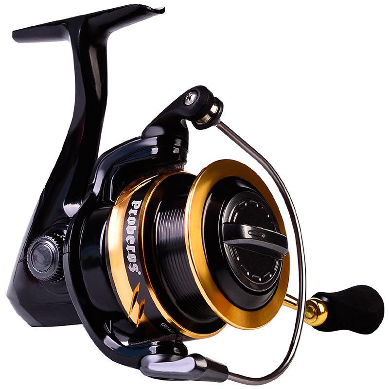 New Spinning Reel 2000-5000 Series All Metal Spool Fishing Reel 5.0:1 High Speed 11+1BB Saltwater Reel Fishing Tackle