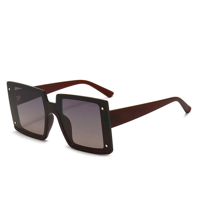 الأزياء عالية الجودة مصمم نظارات عالية الجودة ماركة الاستقطاب عدسة نظارات الشمس النظارات للنساء النظارات إطار معدني # 543