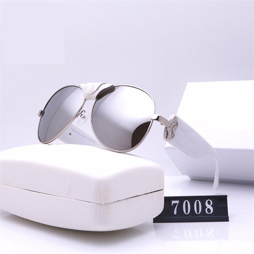 Buffalo Sunglasses Designer Top 7008s Marco Gafas de sol Protección completa Cuerno de lujo Classic UV400 CALIDAD Lente de aleación con Packa HHRA completa