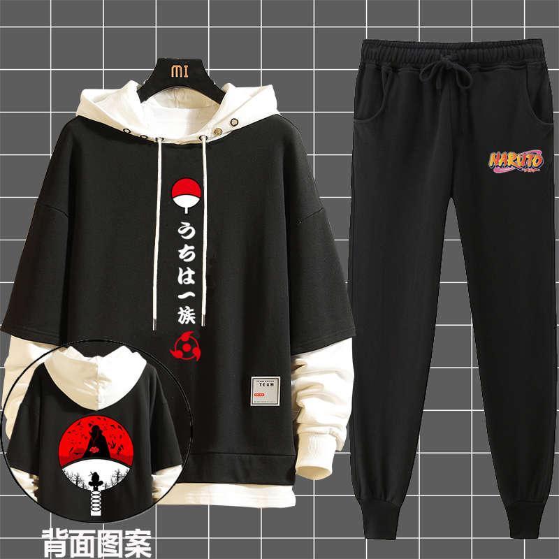 Anime Naruto Wheel Ole Sweater Yuzhi Boku Abrigo de manga larga Otoño e invierno Ropa de invierno Traje para hombre