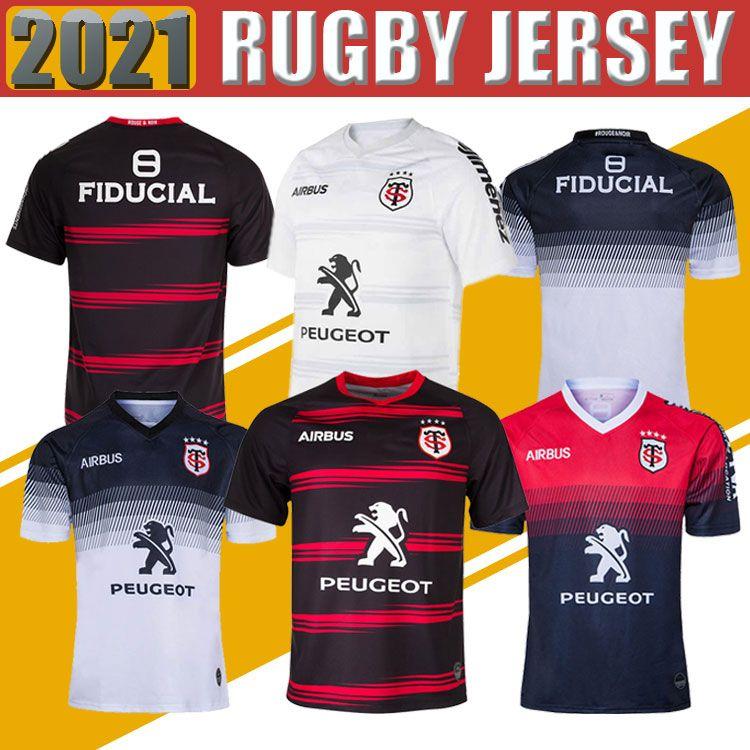 Toulouse Munster City Rugby Jerseys 2021 الصفحة الرئيسية Away 2020 Stade Toulousain 2019 League Jersey Lentulus Shirts الترفيه الرياضة