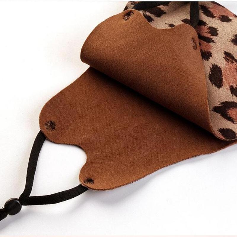 Цена заводской цен 9 стилей леопардовый отпечаток замша черная маска регулируемая солнцезащитная маска мода трехмерный моющийся Reusa