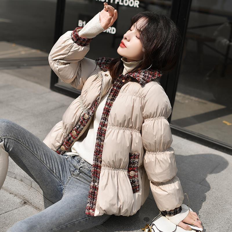Han Edition Kleid Langarm Winter Fair Maiden Temperament Type Downjacke Kragen Kultivieren Moral Primärquelle