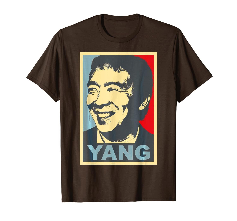 Andrew Yang per la T-shirt elettorale del presidente 2020