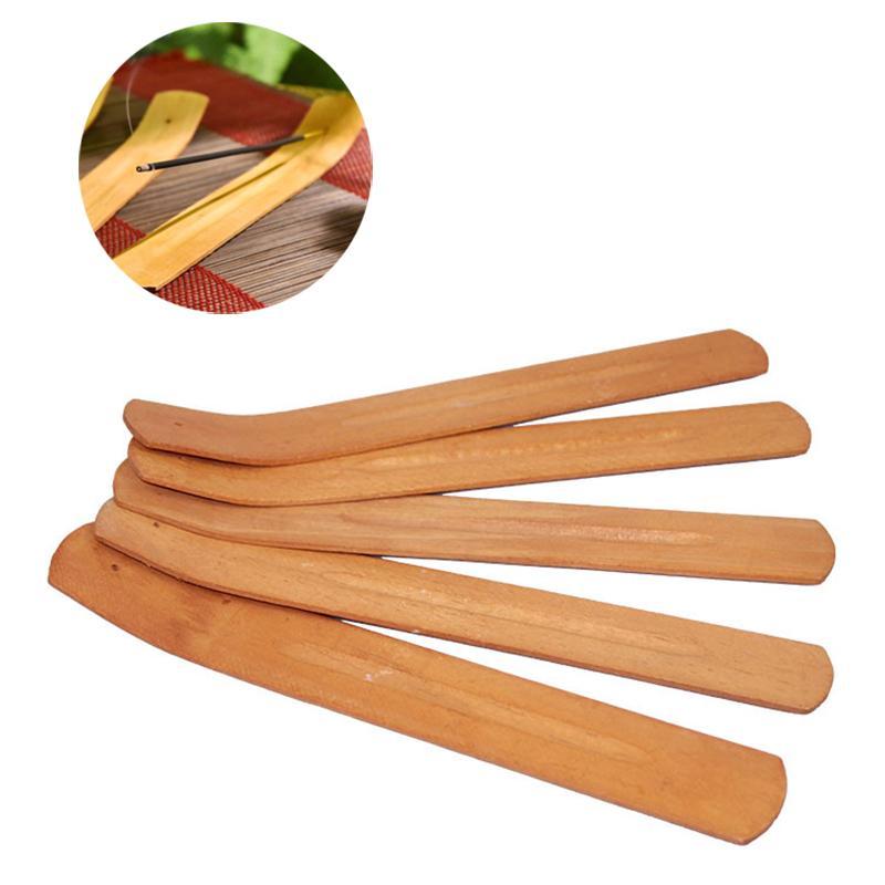 Natural de madeira do incenso de madeira titular de fragrância lâmpadas de cinzas coletor de cinzas decoração decoração ferramenta de censador bandeja de madeira de pinho