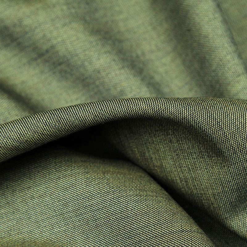 Коричневая смесь Джэй Чистая шерсть Кадровая ткань для отдыха и брюки, WF218